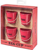 Eddingtons Egg Cup Buckets - Fire (Set of 4)