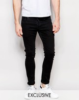 G Star G-Star BeRAW Jeans 3301-A Super Slim Fit Superstretch Black