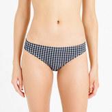 J.Crew Gingham seersucker bikini bottom