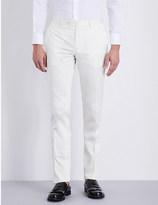 Etro Panama tapered stretch-cotton chinos