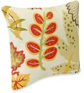 Fishbowl Square Outdoor Throw Pillow in Seaweed