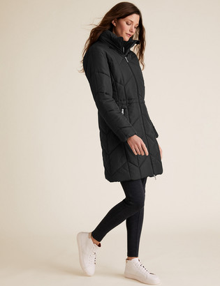 Marks and Spencer Thermowarmth Quilted Puffer Coat