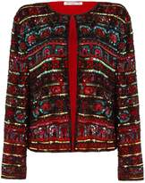 Hasanova Baku Multicoloured Sequin Jacket