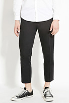 Forever 21 FOREVER 21+ Cropped Slim Fit Trousers
