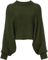 Rosetta Getty oversized pullover - women - Nylon/Viscose/Wool - S