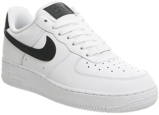 Nike Force 1 07 Trainers White White Black
