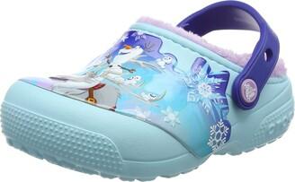 Crocs Girls' Fun Lab Lined Frozen Clog