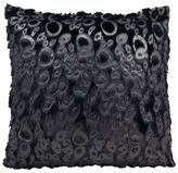 Nourison Leopard Faux Fur Pillow