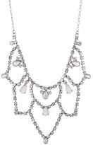 Sorrelli Interlacing Crystal Bib Necklace