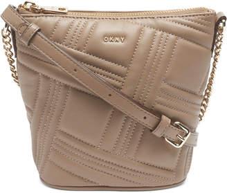 DKNY Allen Crossgrid Bucket Bag