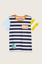 True Religion Stripe Graphic Toddler/Little Kids Tee