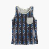 J.Crew Girls' Edun® for African printed pocket tank top