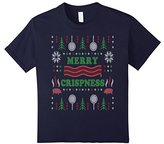 Kids Merry Crispness Bacon Ugly Christmas Sweater 12
