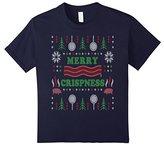 Men's Merry Crispness Bacon Ugly Christmas Sweater Medium
