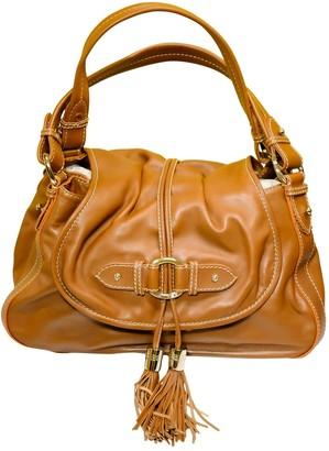 Lancel Brown Leather Handbags