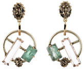 Lulu Frost Crystal Drop Earrings