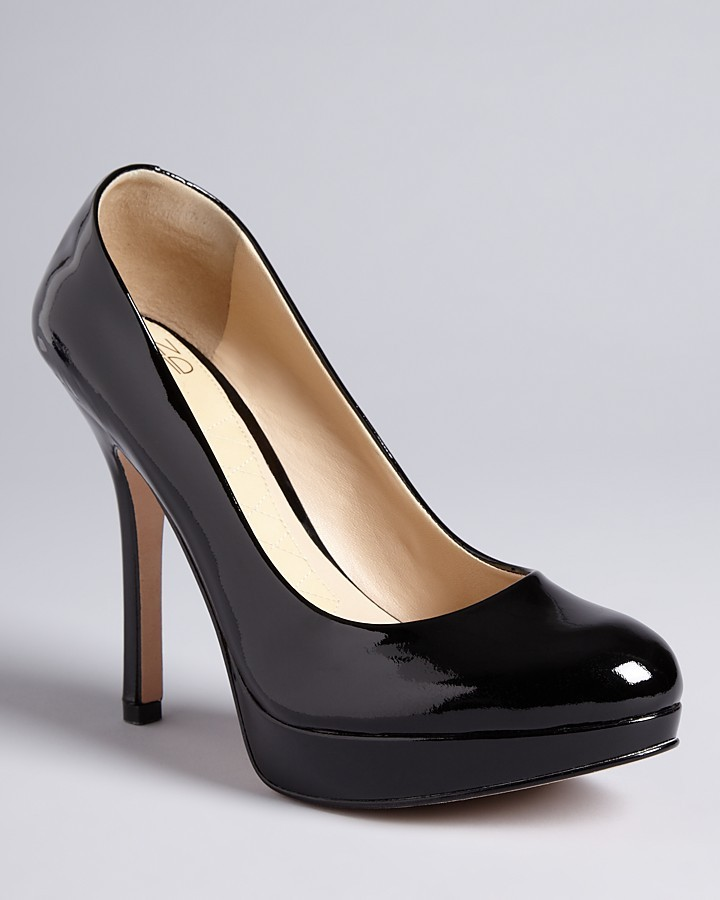 "Joan & David Flipp"" Platform Pumps"