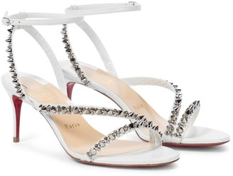 Christian Louboutin Mafaldina Spikes 70 leather sandals