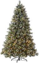 Martha Stewart Living Glistening Pine 7.5' Pre-Lit Artificial Tree