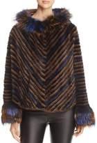 Maximilian Furs Mink Fur Chevron Jacket - 100% Exclusive