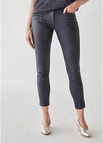 Great Plains Oiled Denim Skinny Jeans, Classic Navy