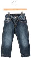 Dolce & Gabbana Boys' Medium Wash Straight-Leg Jeans