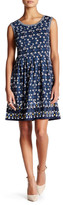 Max Studio Sleeveless Printed Flare Dress