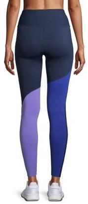 Avia Women's Active Performance Flex Tech Two-Tone Leggings