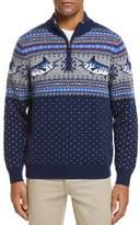 Vineyard Vines Marlin Pattern Quarter-Zip Sweater
