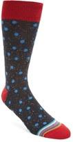 Bugatchi Men's 'Donegal' Polka Dot Socks