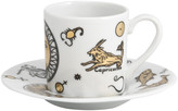 Fornasetti Astronomici Coffee Cup & Saucer - Set of 6