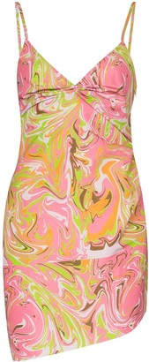 MAISIE WILEN Party Girl graphic-print dress