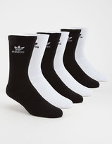 adidas 6 Pack Trefoil Mens Crew Socks