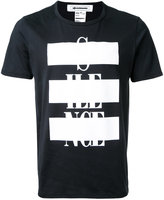 Anrealage patchwork print T-shirt - men - Cotton - 46