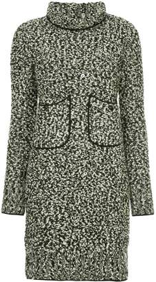 Chanel Pre Owned 1994 turtle neck knitted dress