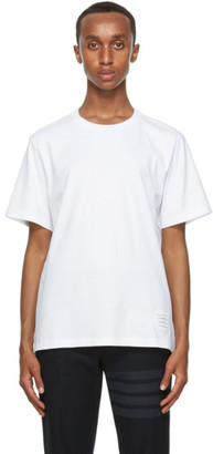Thom Browne White Relaxed Fit T-Shirt
