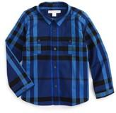Burberry Infant Boy's Trenta Plaid Woven Shirt