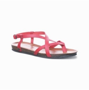 BearPaw Women's Lucia Flat Sandals Women's Shoes