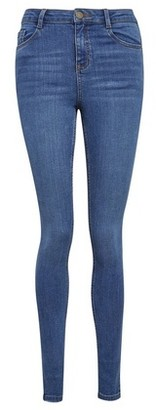 Dorothy Perkins Womens Blue Mid Wash 'Shape And Lift' Denim Jeans, Blue