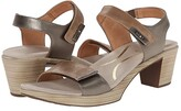 Naot Footwear Intact (Khaki Beige Leather/Pewter Leather/Mirror Leather) Women's Shoes