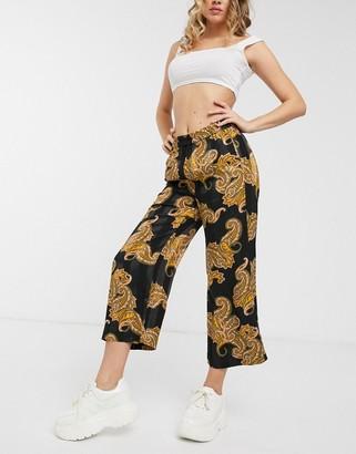 InWear Keelia paisley print wide leg trousers co-ord