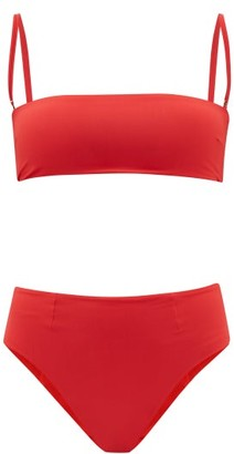 Haight Marcella Bandeau Bikini - Womens - Red