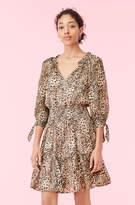 Rebecca Taylor Lynx Silk Burnout Dress