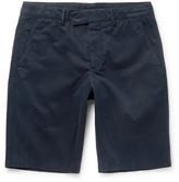 Aspesi - Washed Cotton-twill Shorts