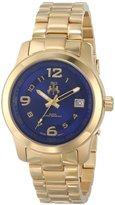 Jivago Women's JV5217 Infinity Gold-Tone Stainless Steel Watch