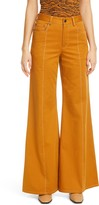 La Ligne Wide Leg Chino Pants