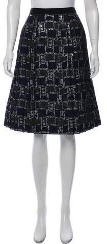 52746f00b Marc Jacobs Pleated Skirt - ShopStyle