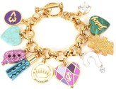 Juicy Couture Mash Up Statement Charm Bracelet