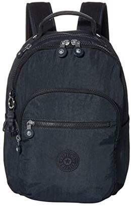 Kipling Seoul Small Backpack (Blue/Blue) Backpack Bags