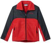 Columbia Boys 4-7 Hybrid Lightweight Fleece Jacket